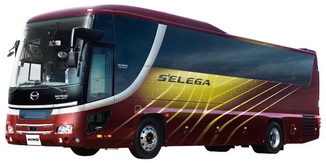 日野の大型観光バス「セレガ」...ザ・トラック