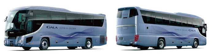 いすゞ「ガーラ」貸切バス12m車フラグシップモデル...ザ・トラック