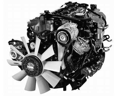 約300㎏の重量軽減を可能にする新型4気筒エンジン「4V20」型...ザ・トラック