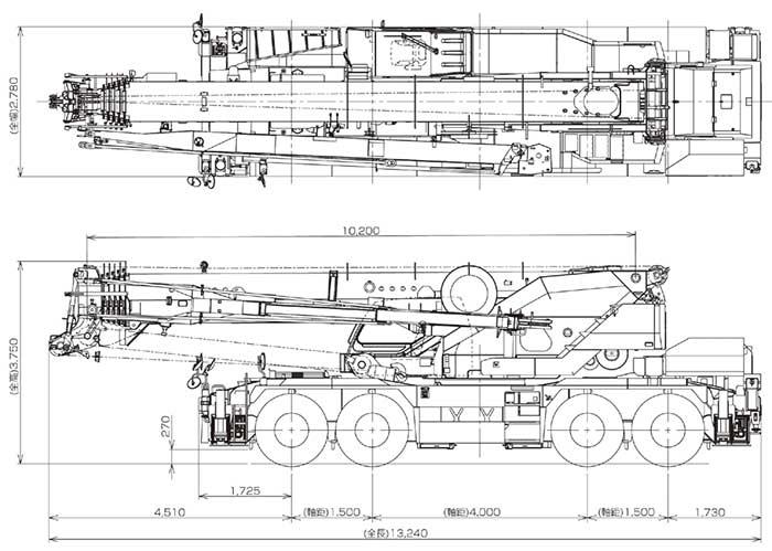 ラフテレーンクレーン「CREVO1000 G4」...ザ・トラック