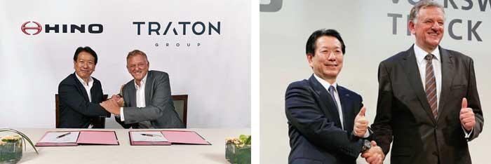 電動技術等における戦略的取り組みに向けて合意した日野自動車とTRATON AG...ザ・トラック