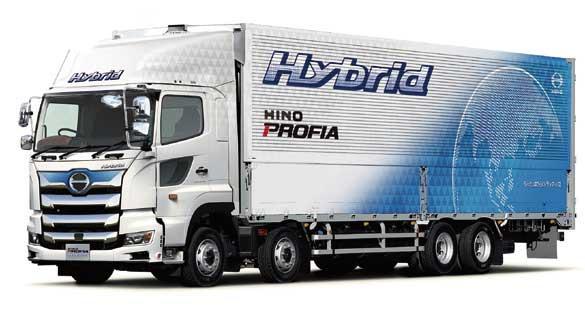 世界初のAI勾配先読みハイブリッド制御を採用したハイブリッドトラック 「日野プロフィア ハイブリッド」...ザ・トラック