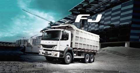 FUSO「FJ」はASEAN地域を中心にしたエリアで人気の車種である...ザ・トラック