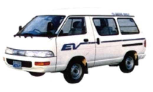 図4:タウンエースEV(1991年)...ザ・トラック