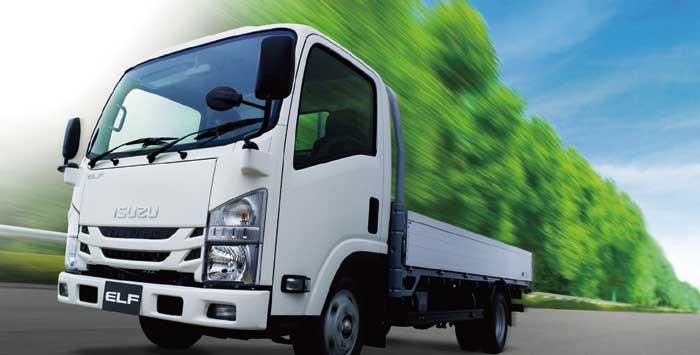 平成28年排出ガス規制に適合した小型トラック「エルフ」...ザ・トラック
