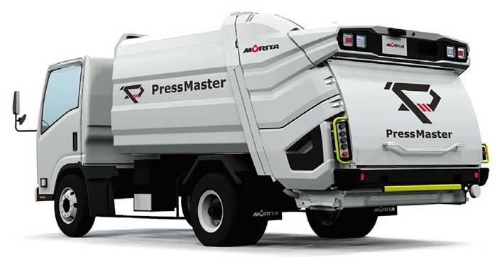 フルモデルチェンジした「プレスマスターPA7型・小型ワイド車」...ザ・トラック
