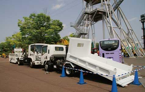 脱着式ボディは現場の作業効率向上に威力を発揮する...ザ・トラック