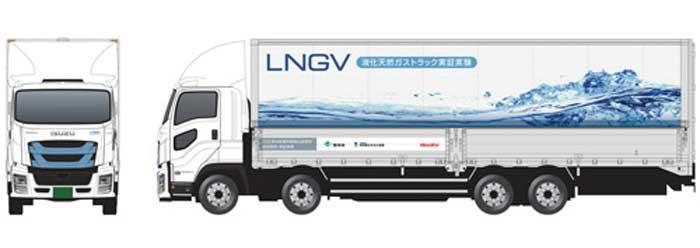 日本初の公道走行実証に使用される大型LNGトラック...ザ・トラック