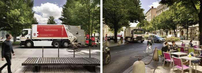 フランス・リヨン市が採用した電動ごみ収集車...ザ・トラック