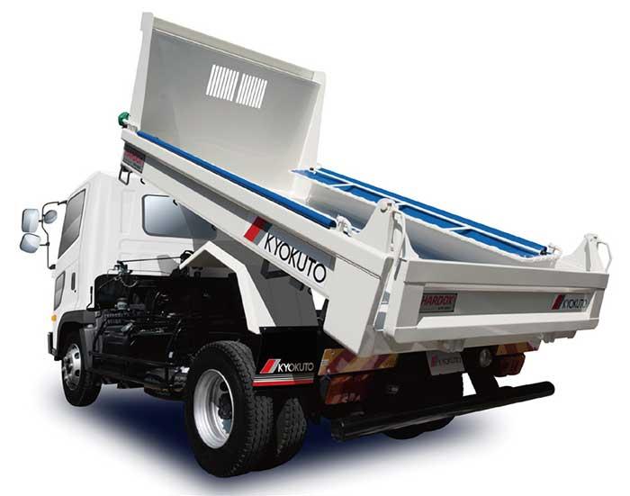 軽量化と耐久性を両立させた「4トン耐摩耗鋼板仕様リヤダンプトラック」...ザ・トラック