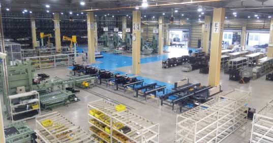 生産工場...ザ・トラック