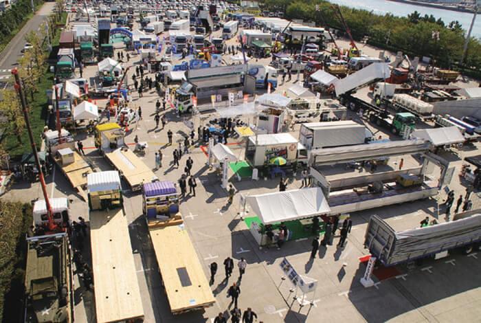 2011年東京トラックショー展示風景…ザ・トラック