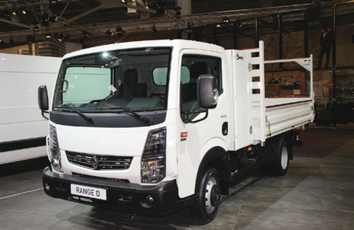 ニッサンと共同開発のルノーブランドの小型トラック…ザ・トラック