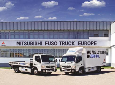ヨーロッパで静かに販路を広げているキャンター車…ザ・トラック