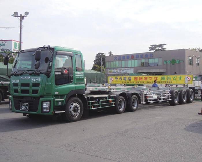 国内のトレーラは大幅に緩和された…ザ・トラック