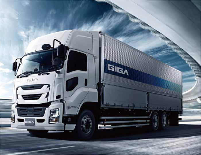 大型トラック「ギガ」…ザ・トラック