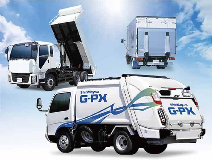 新明和工業の代表的な製品…ザ・トラック