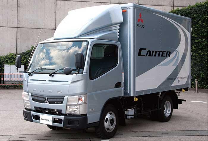 イラン国内での販売が計画されている「キャンター」…ザ・トラック