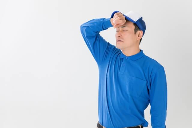 夏場のトラックドライバーは熱中症対策も重要?