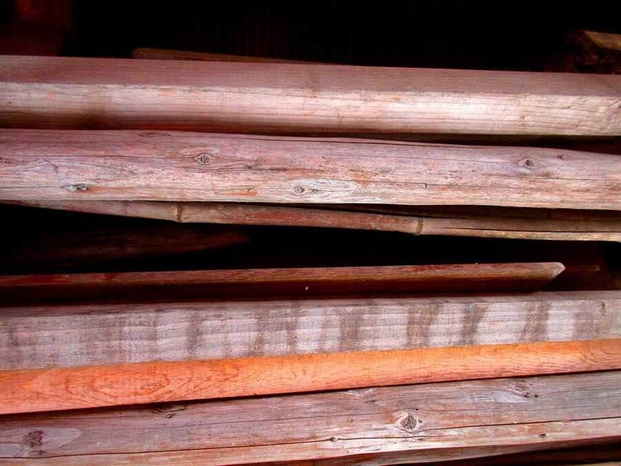 木製アオリ