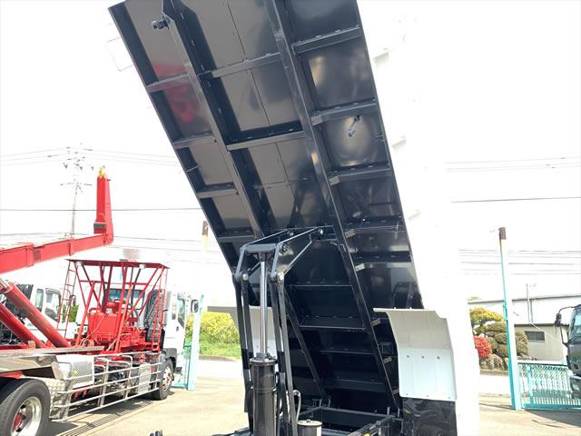 三菱 ファイター 中型 ダンプ 土砂禁 ベッド|駆動方式 4x2 トラック 画像 リトラス掲載