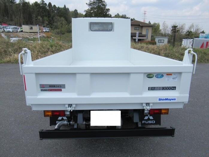 三菱 キャンター 小型 ダンプ 強化 2PG-FBA60|トラック 背面・荷台画像 トラック市掲載