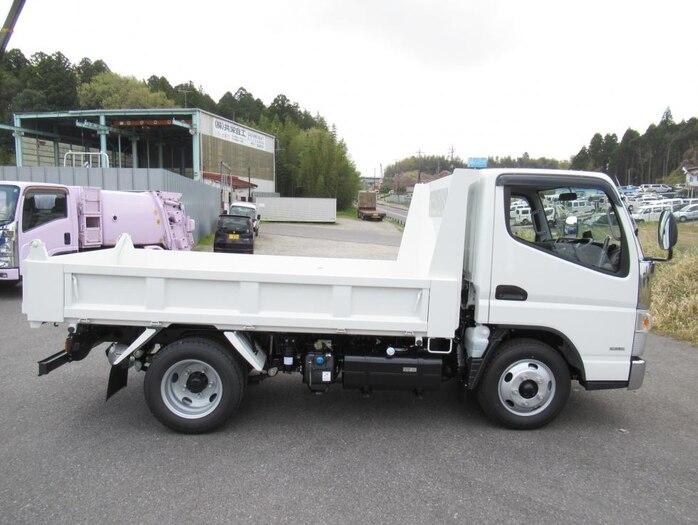 三菱 キャンター 小型 ダンプ 強化 2PG-FBA60|トラック 右後画像 リトラス掲載