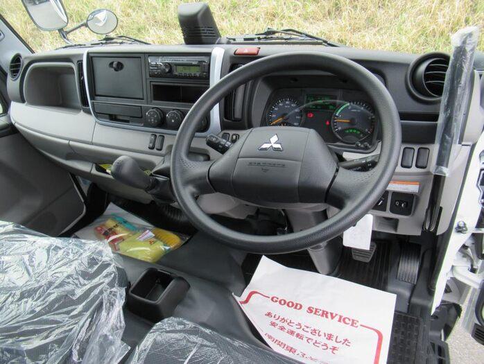 三菱 キャンター 小型 ダンプ 強化 2PG-FBA60|積載 3t トラック 画像 ステアリンク掲載