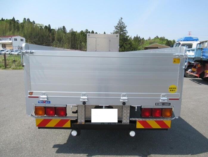 三菱 スーパーグレート 大型 平ボディ ハイルーフ アルミブロック トラック 背面・荷台画像 トラック市掲載