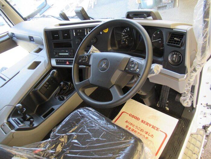 三菱 スーパーグレート 大型 平ボディ ハイルーフ アルミブロック フロントガラス トラック 画像 トラック王国掲載