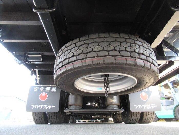 三菱 スーパーグレート 大型 平ボディ ハイルーフ アルミブロック 駆動方式 8x4 トラック 画像 リトラス掲載