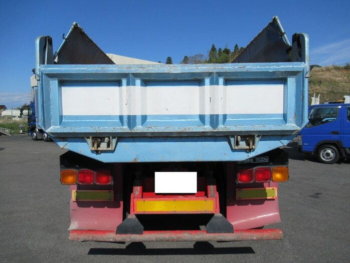 三菱 スーパーグレート 大型 ダンプ コボレーン ベッド トラック 背面・荷台画像 トラック市掲載