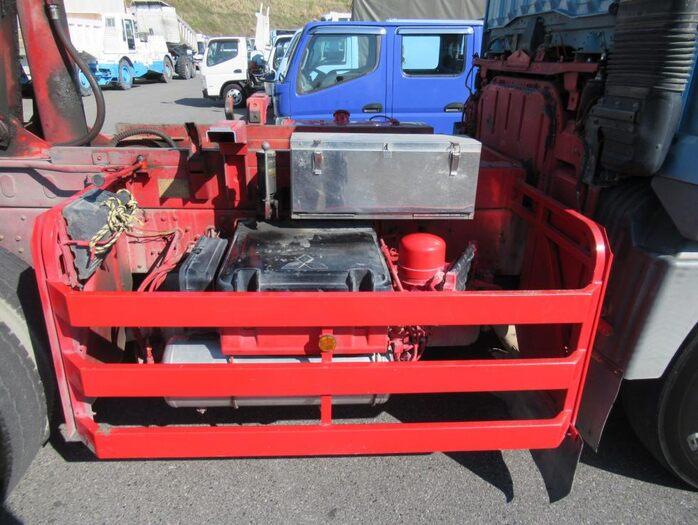三菱 スーパーグレート 大型 ダンプ コボレーン ベッド 積載 9.5t トラック 画像 ステアリンク掲載