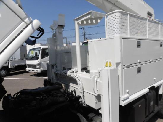 いすゞ エルフ 小型 高所・建柱車 高所作業車 PB-NKR81N|駆動方式 4x2 トラック 画像 リトラス掲載