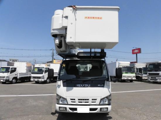 いすゞ エルフ 小型 高所・建柱車 高所作業車 PB-NKR81N|トラック 右後画像 リトラス掲載