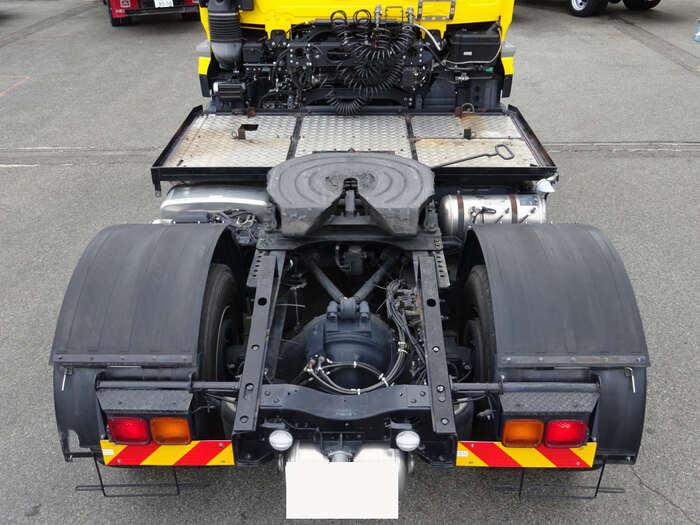 日産UD クオン 大型 トラクタ 1デフ エアサス 駆動方式 4x2 トラック 画像 リトラス掲載