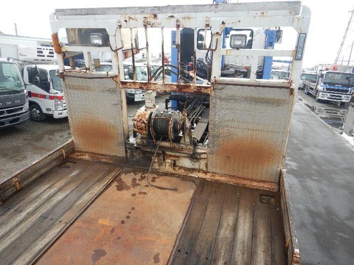 三菱 スーパーグレート 大型 車輌重機運搬 4段クレーン ラジコン|リサイクル券 13,990円 トラック 画像 トラック市掲載