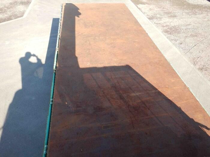 三菱 ファイター 中型 クレーン付 床鉄板 4段 駆動方式 2WD トラック 画像 リトラス掲載