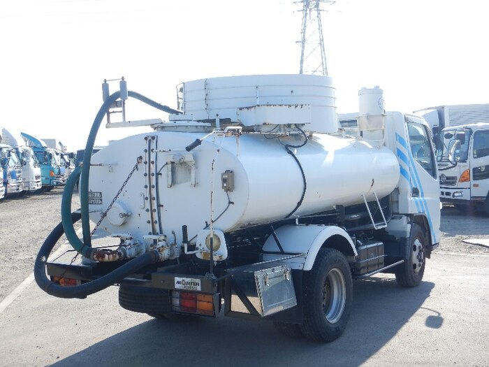 三菱 キャンター 小型 タンク車 バキューム KK-FE73EB|画像2