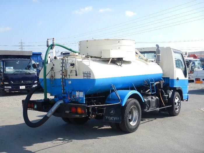 いすゞ エルフ 小型 タンク車 バキューム KR-NPR72GDR|画像2