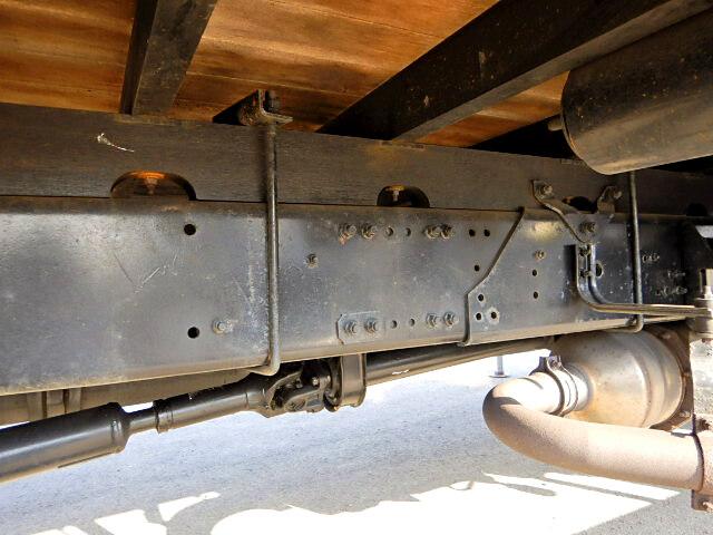 三菱 ファイター 中型 クレーン付 床鉄板 アルミブロック|架装 ユニック トラック 画像 トラックバンク掲載