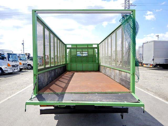 三菱 キャンター 小型 平ボディ 床鉄板 SKG-FEA20|運転席 トラック 画像 トラック王国掲載