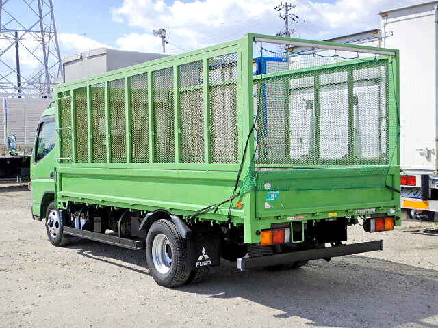 三菱 キャンター 小型 平ボディ 床鉄板 SKG-FEA20|トラック 右後画像 リトラス掲載