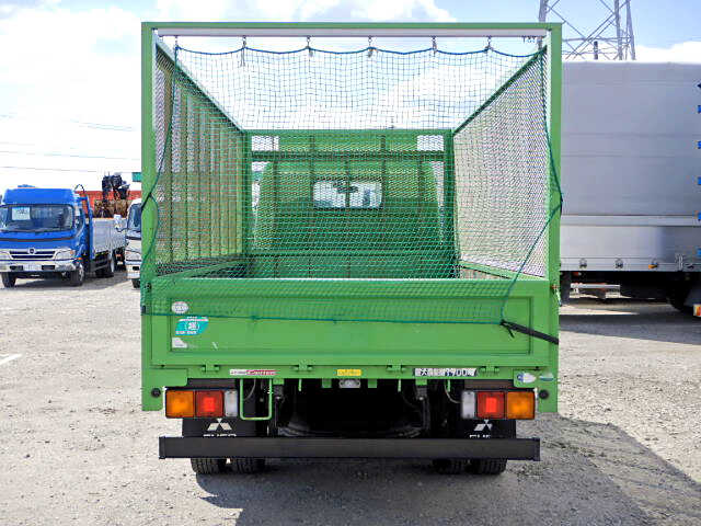 三菱 キャンター 小型 平ボディ 床鉄板 SKG-FEA20|トラック 背面・荷台画像 トラック市掲載