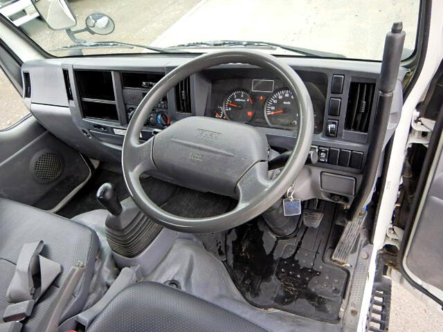いすゞ エルフ 小型 ダンプ 強化 コボレーン|型式 TKG-NJR85AD トラック 画像 栗山自動車掲載
