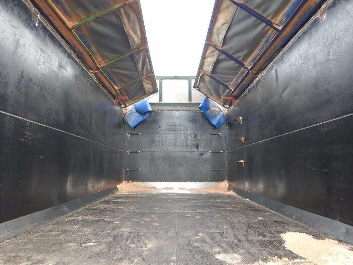 三菱 ファイター 中型 ダンプ 土砂禁 天蓋付き|画像5