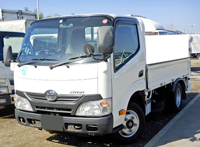 トヨタ ダイナ 小型 平ボディ パワーゲート TKG-XZU605|トラック 左前画像 トラックバンク掲載