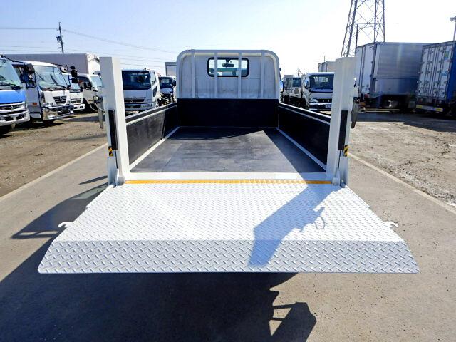 トヨタ ダイナ 小型 平ボディ パワーゲート TKG-XZU605|トラック 背面・荷台画像 トラック市掲載