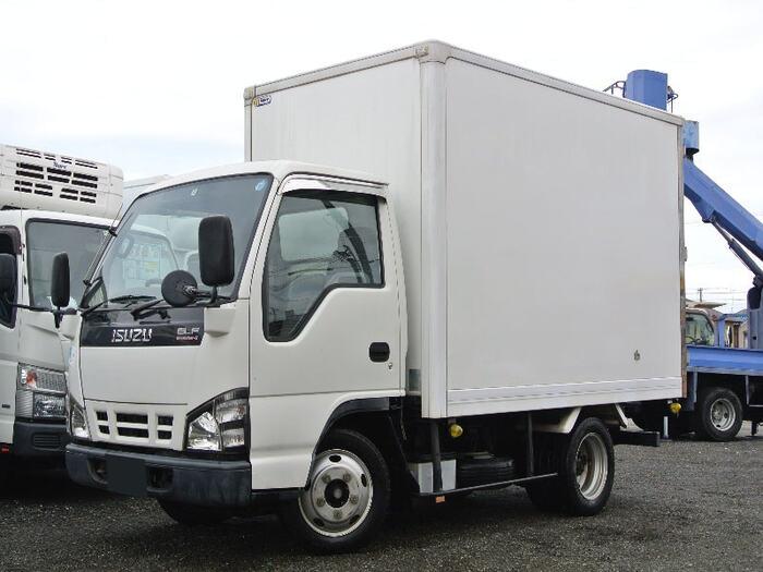 いすゞ エルフ 小型 冷凍冷蔵 保冷 PB-NKR81AN トラック 左前画像 トラックバンク掲載