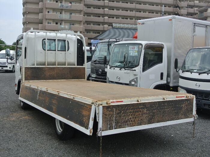 マツダ タイタン 小型 平ボディ 床鉄板 TPG-LPR85AR|トラック 背面・荷台画像 トラック市掲載